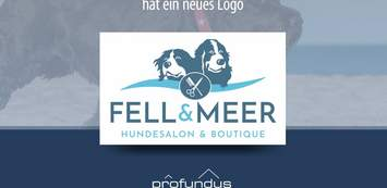 "Logo Hundesalon & Boutique ""Fell und Meer"""